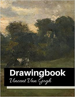 drawingbook vincent van gogh drawingbookdrawing book for adultsall blank sketchbookvan gogh notebook volume 35