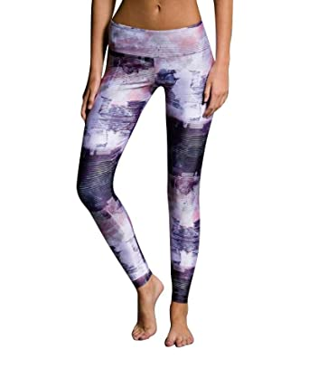 daa755ab815f7d Amazon.com: Onzie Flow Legging 209 Abstract (Abstract, Medium/Large ...