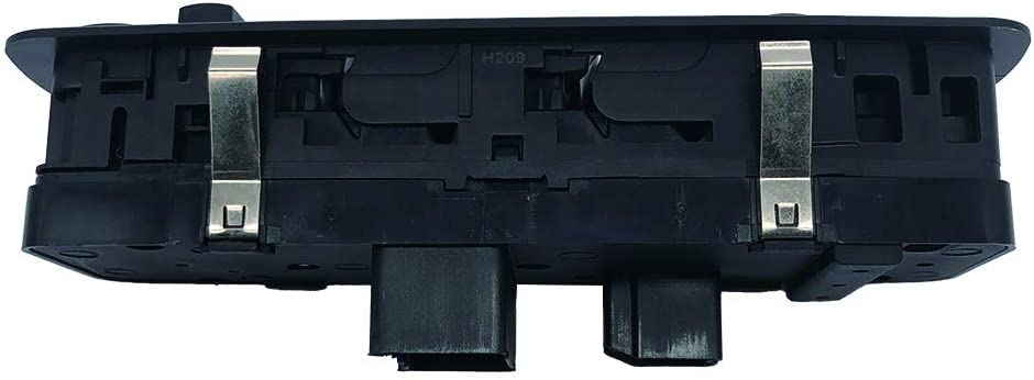 GERMBAN 4602536AD Front Left Power Window Switch Replacement for Dodge Grand Caravan Chrysler Town and Country 2008-2011
