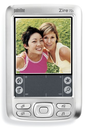 PalmOne Zire 72 Special Edition Handheld Silver