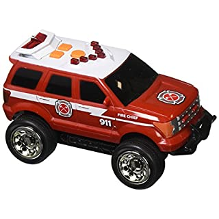 Maxx Action Light & Sound Emergency Rescue Vehicle - SUV, Helicopter, Ambulance (Color and Style May Vary)