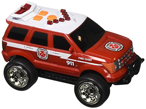 Sunny Days Entertainment Maxx Action Light & Sound Emergency Rescue Vehicle - SUV, Helicopter, Ambulance (Color and Style May ()