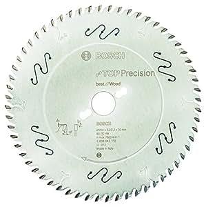 Bosch 2 608 642 112  - Hoja de sierra circular Top Precision Best for Wood - 250 x 30 x 3,2 mm, 60 (pack de 1)