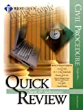 Quick Review on Civil Procedure, Blaze, 0314242872