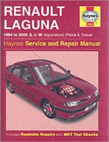Renault Laguna Petrol & Diesel 94 - 00 L To W Haynes Service and ...