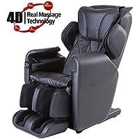New Fujita SMK92 Innovative 4D Advanced Realistic Massage chair (Black)