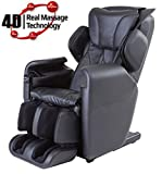 New Fujita SMK92 Innovative 4D Advanced Realistic Massage chair (Black)