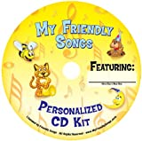 Friendly Songs Personalized Music Box CD Sings Your Child's Name