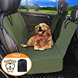 fitted dog seat covers - Dog Seat Cover Car Seat Covers for Pets With Storage bag- Nonslip Backing, 600D Waterproofand Hammock Style Easy to Clean and Install for Cars, Trucks and Suv's