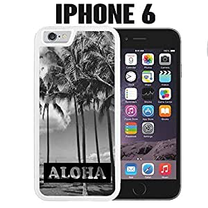 iPhone Case Aloha Hawaii Island for iPhone 6 Plastic White (Ships from CA)