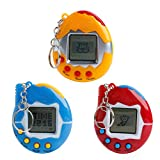 UKnows Multi-color Cartoon Electronic Pet Mini Hand-hold Game Machine, a Gifts Toy