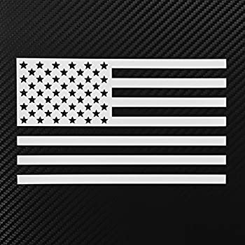 Amazoncom American Flag Decal Sticker Custom Diecut Vinyl USA - Custom die cut vinyl stickers how to apply