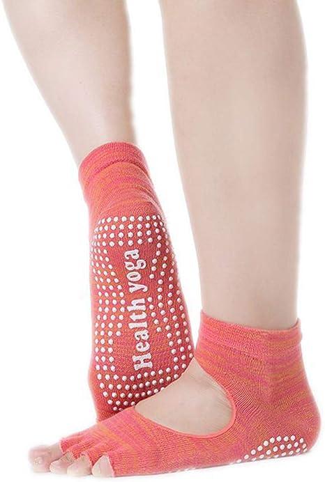 MUCC Calcetines 1 Par De Yoga De Algodón del Dedo del Pie De 5 ...