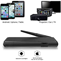 VICTONY Wireless And Wired 2 In 1 1080P WiFi Display Dongle, for TV,High Speed HDMI Miracast Dongle for Android/iOS Smartphone,Tablet,iPhone,iPad,Support AirPlay/Miracast / DLNA/Screen Mirroring