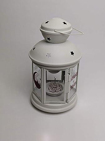 Amazonde Ikea Rotera Laterne Für Teelicht In Weiß 21cm
