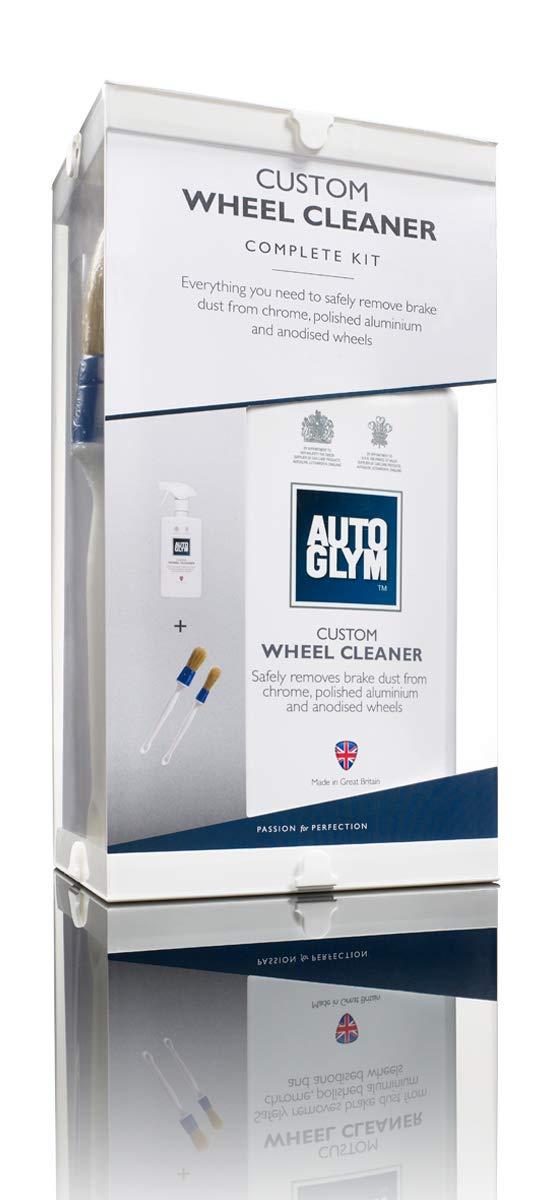 Autoglym (AG Custom x 1-Flacone Detergente per cerchi in lega e 2 spazzole per pulizia senza acido Altro Ltd.