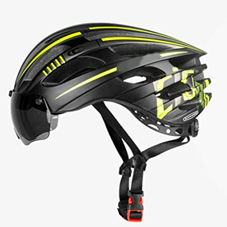 HYH Ciclismo Casco Bicicleta De Montaña Gafas Magnéticas ...