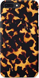 uCOLOR Case Compatible iPhone 8 Plus/7 Plus 6s Plus/6 Plus Cute Case Tortoise Shell Soft TPU Silicone Shockproof Cover Compatible iPhone 8 Plus/7 Plus/6S Plus/6 Plus(5.5
