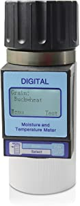 AMTAST Grains Moisture Meter Smart Grain Moisture Tester (Test 25 kinds of grains)