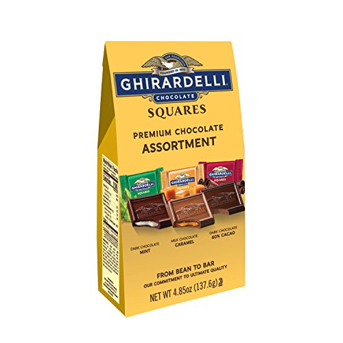 (Ghirardelli Chocolate Squares, Premium Assortment, 4.85-Ounce Packages (Pack of 6))