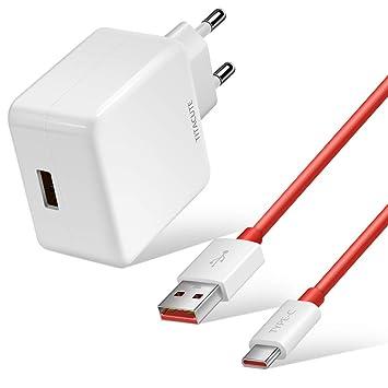 TITACUTE Cargador Dash, 5 V 4 A OnePlus Cargador cable de ...