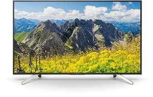 """Sony Kd-55Xf7596 4K Ultra HD Smart TV, Si̇yah, 55"""""""
