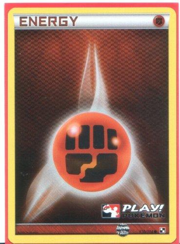 (Fighting Energy - Holo-Foil Pokemon Card (Black & White #110) Play! Pokémon League Promo)