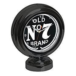 Jack Daniel's Old No. 7 Tabletop Neon Clock