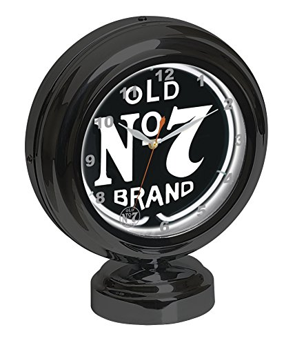 Jack Daniel's Old No. 7 Tabletop Neon Clock for sale  Delivered anywhere in USA