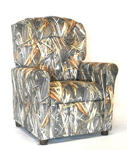 Camouflage Furniture Kids Recliner Camo Chair With Ebook