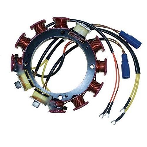 CDI Electronics 173-4287 Johnson/Evinrude Stator - 6/8 Cyl. 35 Amp (1988-1994)
