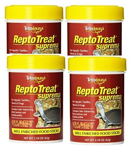 Tetra ReptoTreat Suprema Sticks 2.18 Ounce each (4 Pack) by Tetra