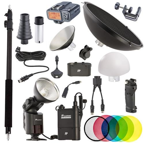 Flashpoint StreakLight 360 Ws Nikon TTL Creative Collection (with R2 Integrated Wireless transceiver) (Grip Flashpoint Professional Battery)