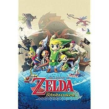 Legend Of Zelda Wind Waker Poster Amazon.com: The Legend...