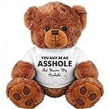 Funny Teddy Bear Couple Gift: Medium Teddy Bear Stuffed Animal