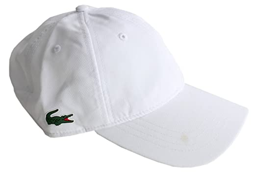 eb29f3cd88e Image Unavailable. Image not available for. Color  Lacoste Mens Baseball Cap  - White