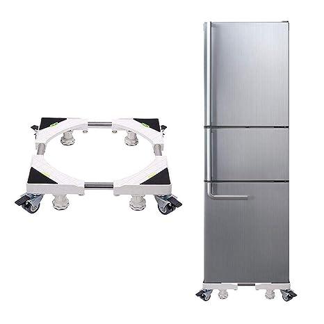 heresell Base móvil con Ruedas Soporte de la Base del refrigerador Soporte de Almacenamiento Base de