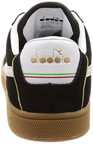 Nero 80013 Sportive E Diadora Kick Scarpe Per Uomo Donna nero BqzS0zx