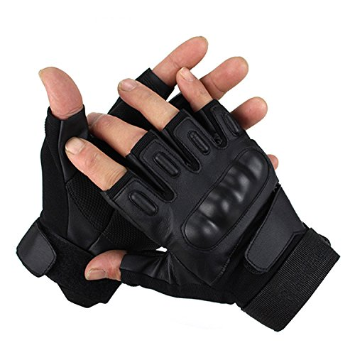 Gloves Half Fingers Motorcycle MTB Bike Bicycle Gel Short Sports Racing Cycling Outdoor