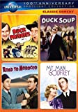 Classic Comedy Spotlight Collection (Buck Privates / Duck Soup / Road to Morocco / My Man Godfrey)