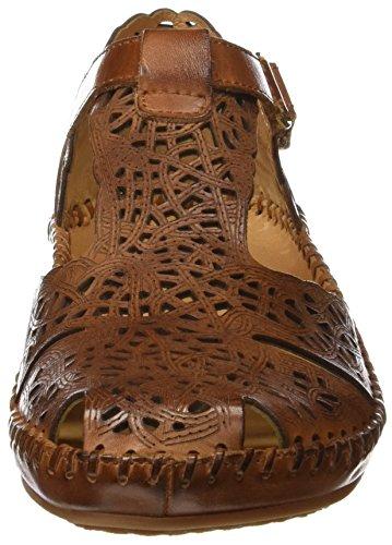 Con 655 v17 Marrone P Donna Sandali Pikolinos brandy Vallarta Zeppa wx1TXqH