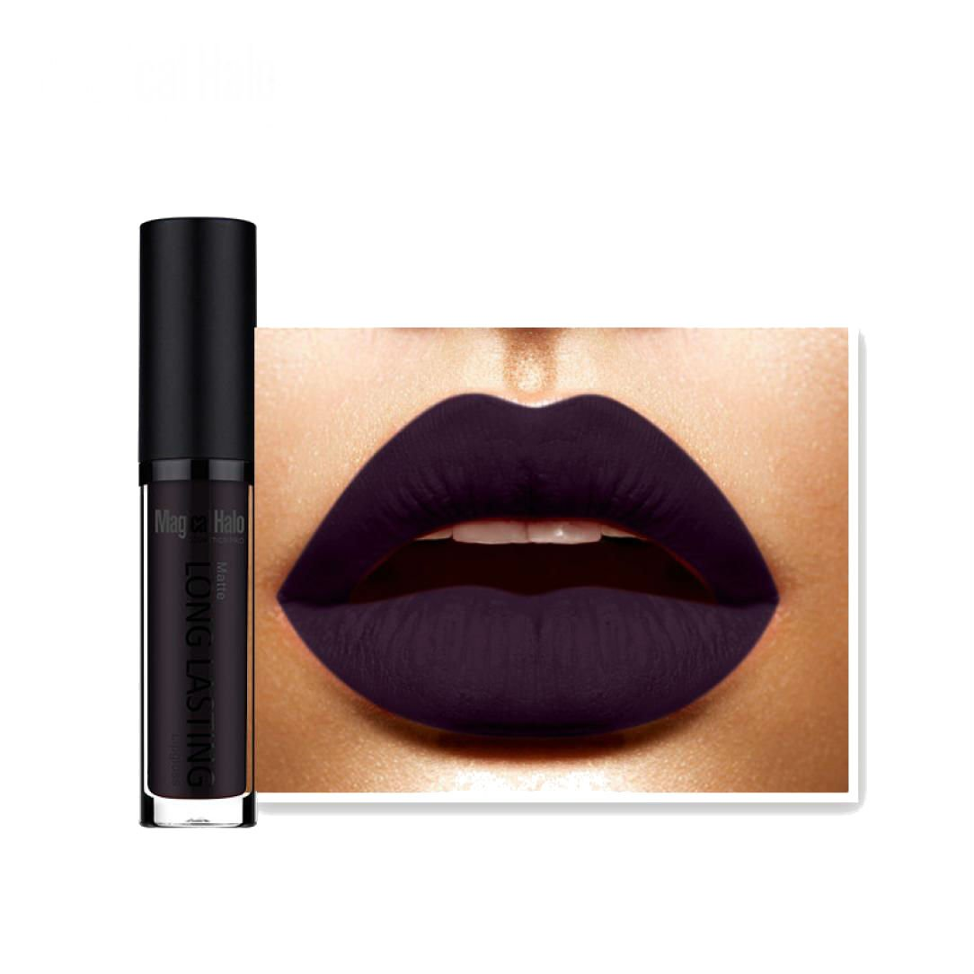 Tenworld 1 PC Waterproof Matte Liquid Lipstick Long Lasting Lip Gloss Lipstick (N)