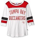 NFL Tampa Bay Buccaneers Women's Gridiron Tee, White, Medium