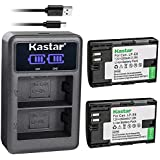 Kastar Battery LCD Dual Charger for Canon LP-E6 LP-E6N LC-E6E & Canon EOS 80D Type: 2 Batteries  LCD Dual Charger