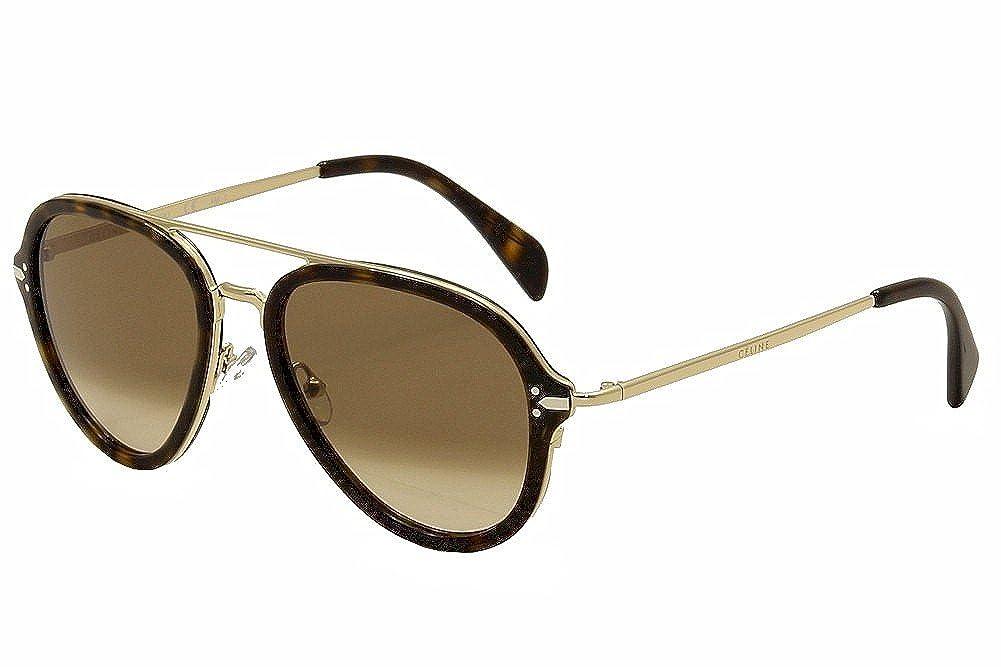 5d5b9828f67 Sunglasses Celine 41374 S 0ANT Dark Havana Gold   9J gray polarized lens at  Amazon Men s Clothing store