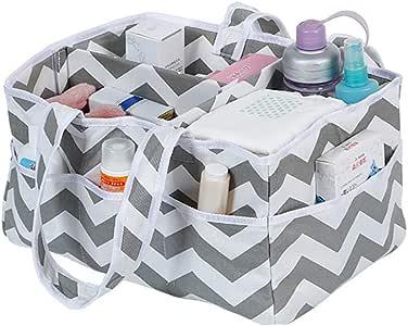 Continuer Cajas para pañales Multiusos Organizador de pañales Algodón Bolso para pañales para Mantas Juguetes Toallitas: Amazon.es: Hogar