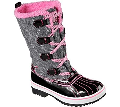 Skechers Girls Highlanders Quilt N Cute Cold Weather Boot