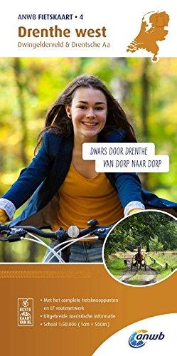 Radwanderkarte 04 Drenthe West Dwingelderveld And Drentsche Aa 1 50 000  ANWB Fietskaart  4