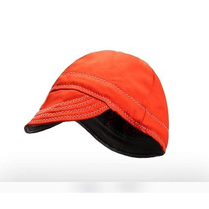 El Sombrero anti-scalding del soldador de assicurazione de trabajo la cobertura de cabeza de