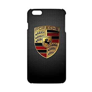 Fortune Famous car logo Porsche Phone case for iPhone 6plus